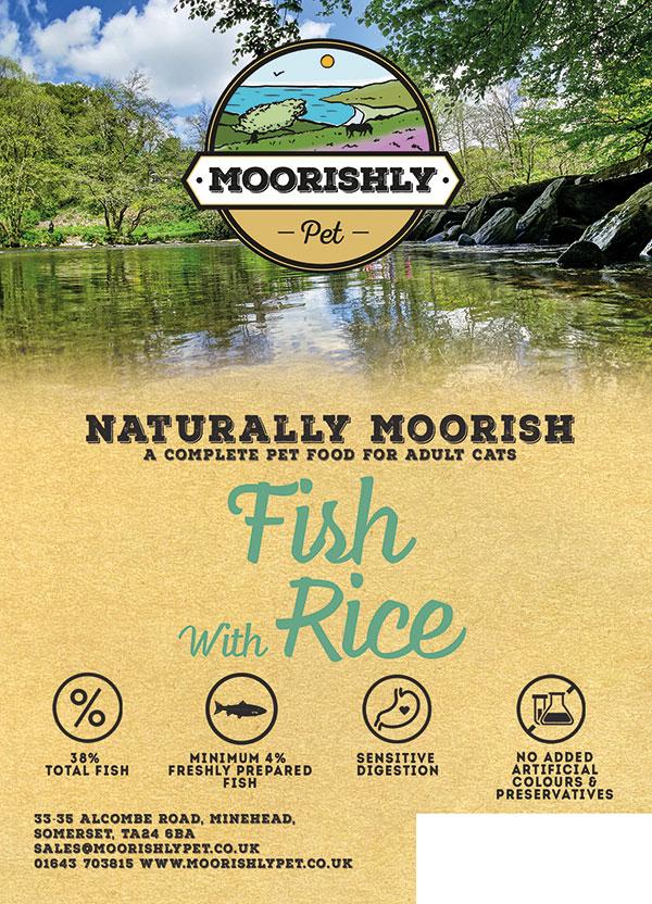 Naturally Moorish Cat Food Fish and Rice 2kg