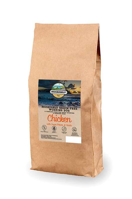 Grain Free Working Adult Dog Food Chicken