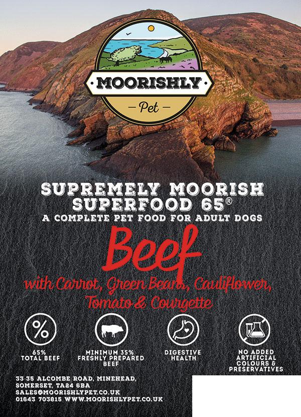 Supremely Moorish Superfood 65 Dog Food