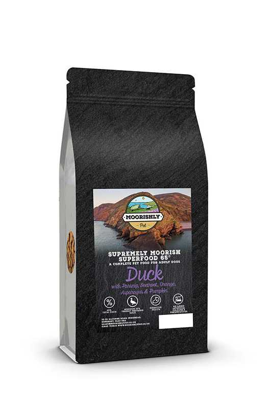Delicious Superfood 65 Adult Dog Food Duck